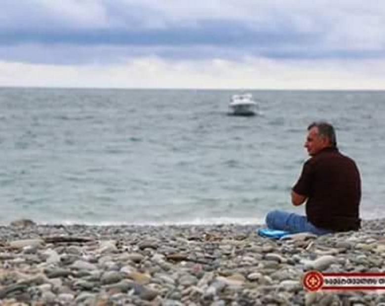 ზღვაში დაკარგული ჯარისკაცის მამა